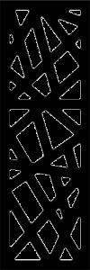 Panou decorativ negru